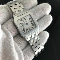 Cartier Santos Demoiselle 2701 Stainless Steel Quartz Movement...