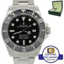 Rolex Sea-Dweller 4000 SD4K Steel 40mm Black Ceramic Dive Watch