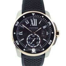 Cartier W7100055 Calibre de Cartier Diver 42mm Pink Gold &...