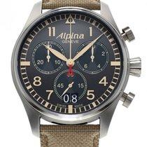 Alpina Startimer Pilot Chronograph Big Date Camouflage Grey