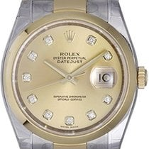 Rolex Datejust Men's 2-Tone Steel and Gold Watch 116203