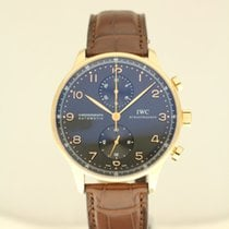 IWC Portuguese Automatic Chronograph rosé gold '14  with B...