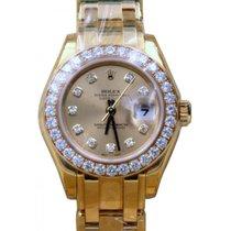 Rolex Datejust Masterpiece 80298 Ladies 29mm Champagne Factory...