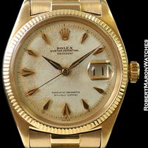 Rolex Datejust 6605 18k Rose Gold