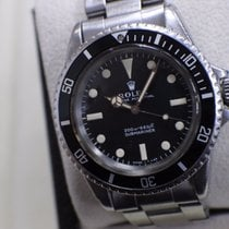 Rolex 5513 Vintage Submariner Stainless Steel Very Rare Mint Dial