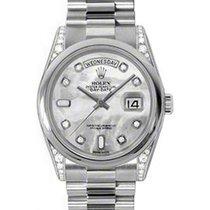 勞力士 (Rolex) Day-Date 36 118296-MOPDDP White Mother of Pearl...