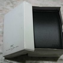 IWC vintage watch box black leather gst model and others