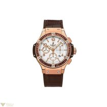 Hublot Big Bang Tutti Frutti Hazelnut 18K Rose Gold Men`s Watch