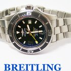 Breitling Mens SUPEROCEAN Automatic Chronometer Watch 2000m