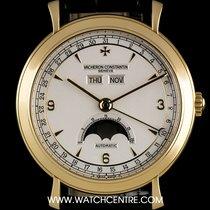 Vacheron Constantin 18k Y/G Les Historiques Triple Calendar...