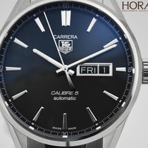 TAG Heuer MEN'S CARRERA CALIBRE 5 DAY-DATE AUTOMATIC ...