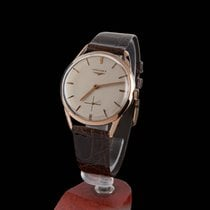 Longines Classic Rose Gold Manual Winding Men Size