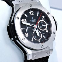 Hublot Big Bang 301.SX.130.RX 44mm Chronograph Black Dial PAPERS