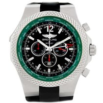 Breitling Bentley Gmt Green Bezel Limited Edition Watch A47362...