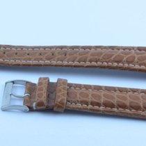Breitling Kroko Leder Armband Band 20mm 20-18 Mit Dornschliess...