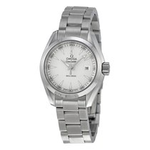Omega Aqua Terra Silver Dial Stainless Steel Ladies Watch...