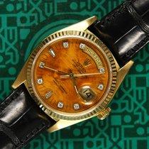 Rolex Day-Date 18038 birch wood diamonds box 1978