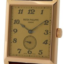 Patek Philippe Gondolo 18k Rose Gold Tan Dial