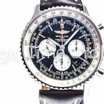 Breitling NAVITIMER 01 46mm steel NEW Neu black dial nero