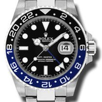 Ρολεξ (Rolex) ROLEX GMT MASTER BLACK AND BLUE