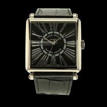 Franck Muller Master Square Date Or gris 18 carats
