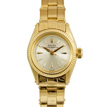 Rolex Oyster Perpetual Ladies Silver Dial, Ref: 6919