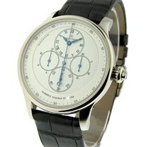 Jaquet-Droz J007634202 Chrono Monopoussoir with Ivory Enamel...