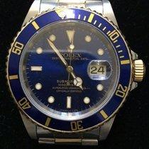 Rolex Submariner Steel/Gold Blue Dial Ref.16613