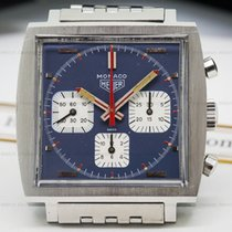 TAG Heuer Vintage Monaco Blue Dial SS / SS