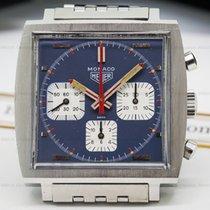 Heuer 73633B Vintage Monaco Blue Dial SS / SS (24213)