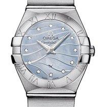 Omega Constellation Brushed 24mm 123.10.24.60.57.001