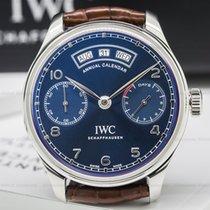 IWC Portuguese Annual Calendar SS Blue Dial