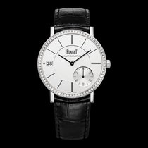 Piaget [NEW] Altiplano Silvered Dial 18K White Gold Diamond