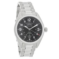 Hamilton Khaki Field Mens Black Dial Swiss Chronograph...