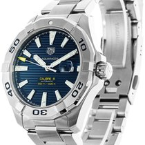 TAG Heuer AQUARACER CALIBRE 5 Sub Stainless Steel Blue WAY2012...