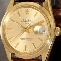 Rolex Oyster Perpetual  Date SCOC 18k gold case, quickset for...