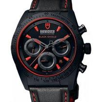 Tudor Fastrider Blackshield 42000CR Black Red Index Black...