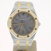Audemars Piguet RoyalOak Steel/Gold AftersetDiamonds 35mm...