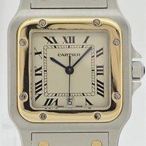 Cartier Santos Herren Stahl/gold