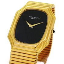 Patek Philippe 18K Gold 3729/1, Black Onyx Dial