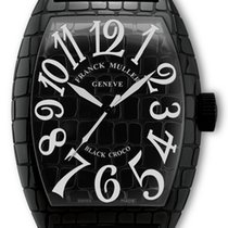 Franck Muller BLACK CROCO - 100 % NEW - FREE SHIPPING
