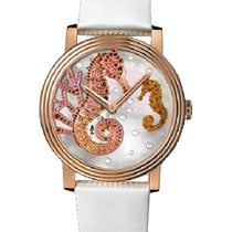 Boucheron Crazy Jungle Seahorse in Rose Gold