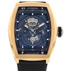 Cvstos Men's CVSTOS Twin Time Challenge 18k Rose Gold...