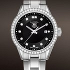 TAG Heuer Ladies Carrera Diamond Bezel/Dial Black Quartz