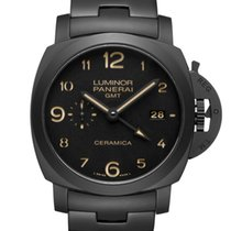Panerai Luminor 1950 Tuttonero 3 Days Ceramica GMT PAM00438
