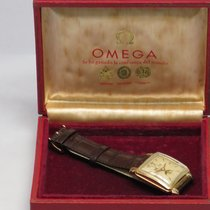 Omega 1952 Cosmic Triple Calendar Patina Dial Re-Painted 18K 32mm
