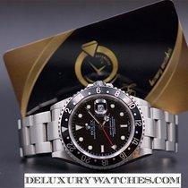 Rolex GMT MASTER II 16710 Ser.F39 no holes Never Polished