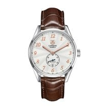 TAG Heuer Carrera 39mm Date Automatic Mens Watch Ref WAS2112.F...