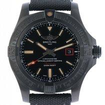 Breitling Avenger Blackbird 44 Titan Automatik Military...