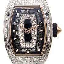 Richard Mille RM07-010-MED White Gold Diamond Set Black...